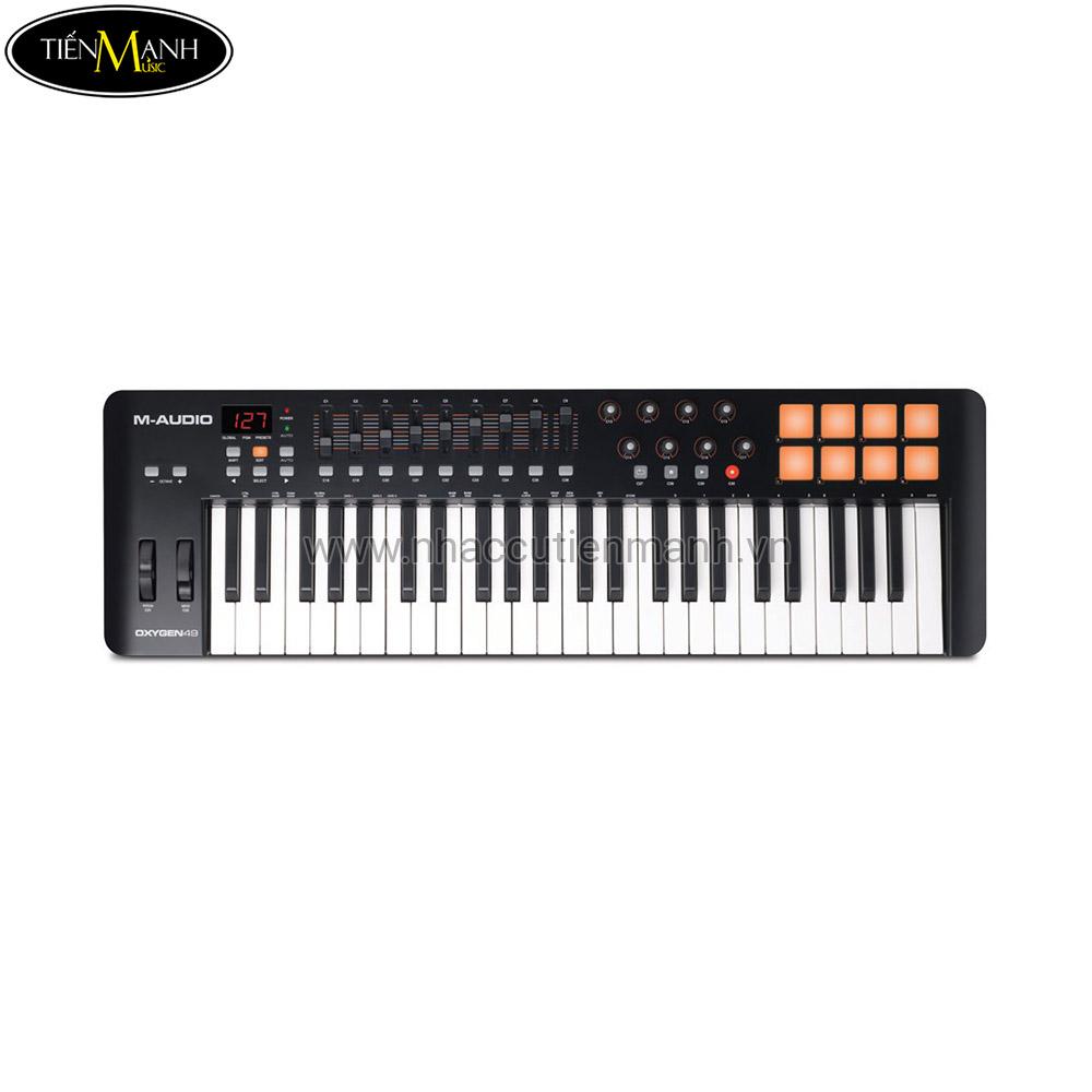 M-Audio Oxygen 49-Key USB MIDI Controller