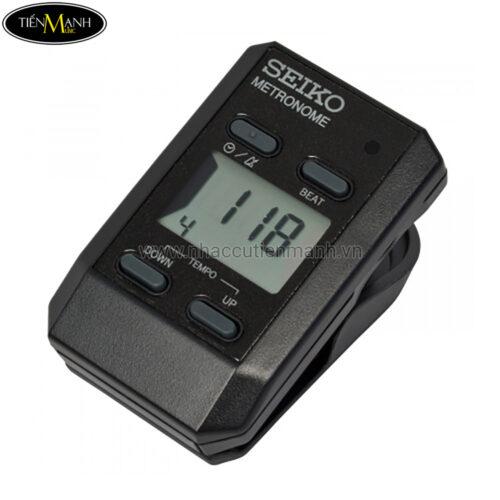Máy đập nhịp điện tử Seiko DM51 Black