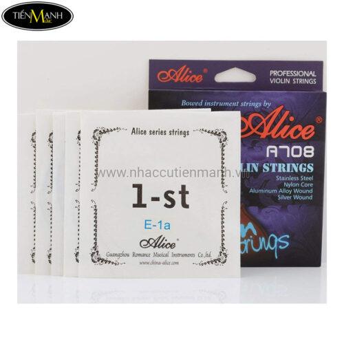 Alice Violin Strings A708