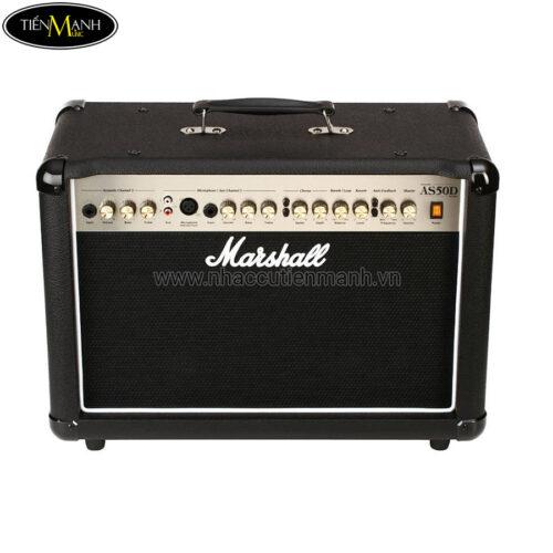 Ampli Đàn Acoustic Guitar Marshall Combo AS50DB - Đen