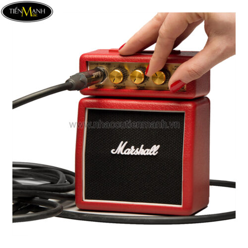 Ampli Đàn Guitar Mini Micro Marshall MS-2R