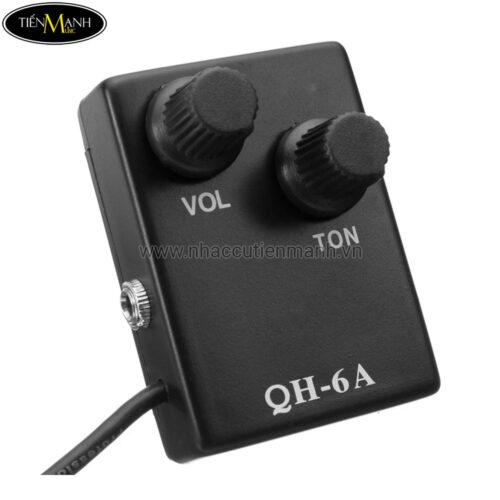 Pickup Đàn Acoustic Guitar QH-6A (Bộ thu âm Guitar)