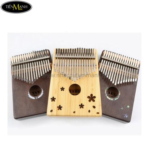 Đàn Kalimba Yael 17 Phím Gỗ Mahogany Y17M-M (Khảm bào ngư Mặt Trăng - Mbira Thumb Finger Piano 17 Keys)