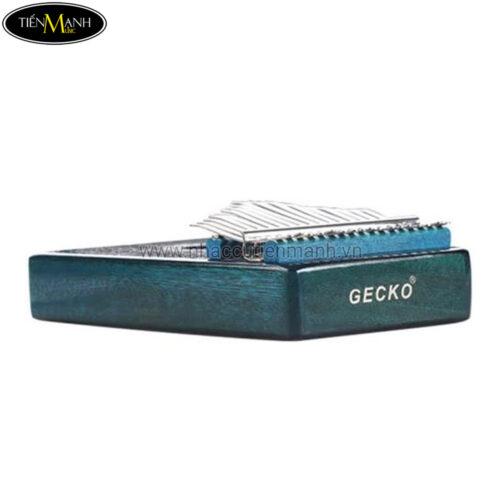 Đàn Kalimba Gecko 17 Phím K17MBL (Xanh lục - Gỗ Mahogany - Mbira Thumb Finger Piano 17 Keys)