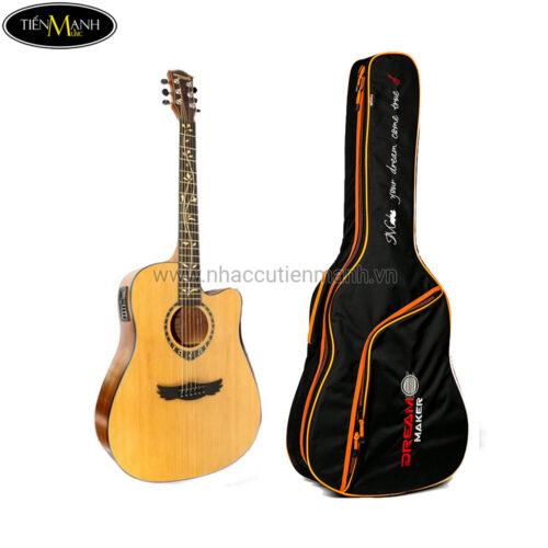 Đàn Guitar Acoustic Dream Maker DM-306E + (Bao)