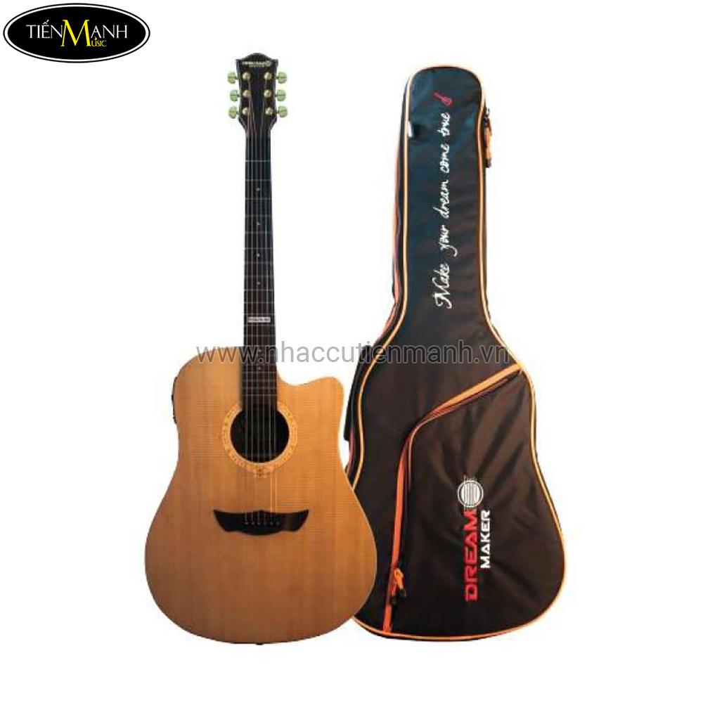 Đàn Guitar Acoustic Dream Maker DM-66 EQ + (Bao)