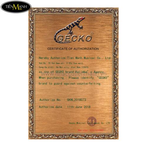 Đàn Kalimba Gecko 17 Phím K17CA (Gỗ Long Não - Tone C hoặc B tùy chọn)