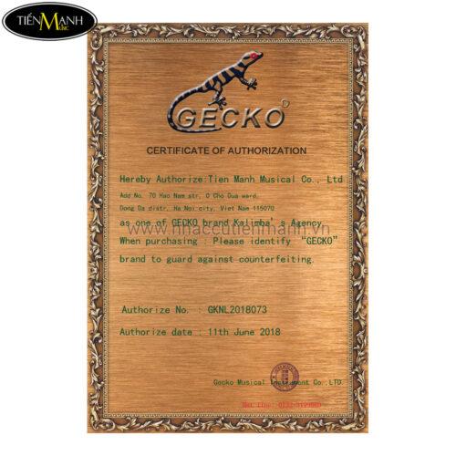 Đàn Kalimba Gecko 17 Phím K17CAP (Gỗ Long Não - Tone C hoặc B tùy chọn)