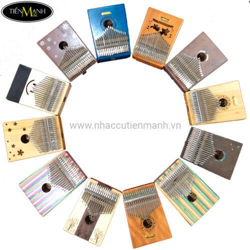 Đàn Kalimba Yael 17 Phím Gỗ Mahogany Y17M (Mbira Thumb Finger Piano 17 Keys)