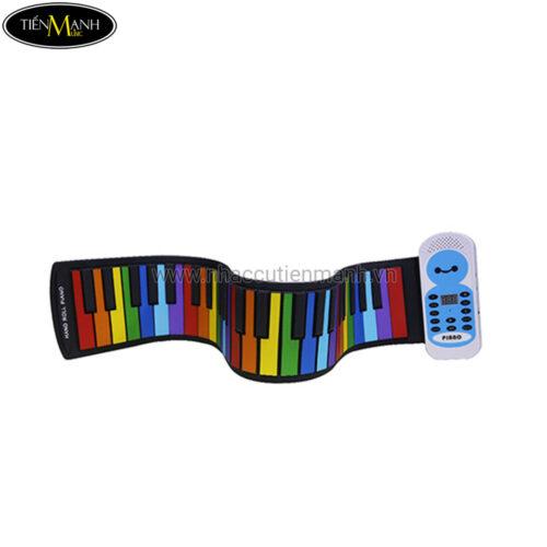 Đàn Piano 49 phím cuộn mềm dẻo có loa Konix Flexible PE49C