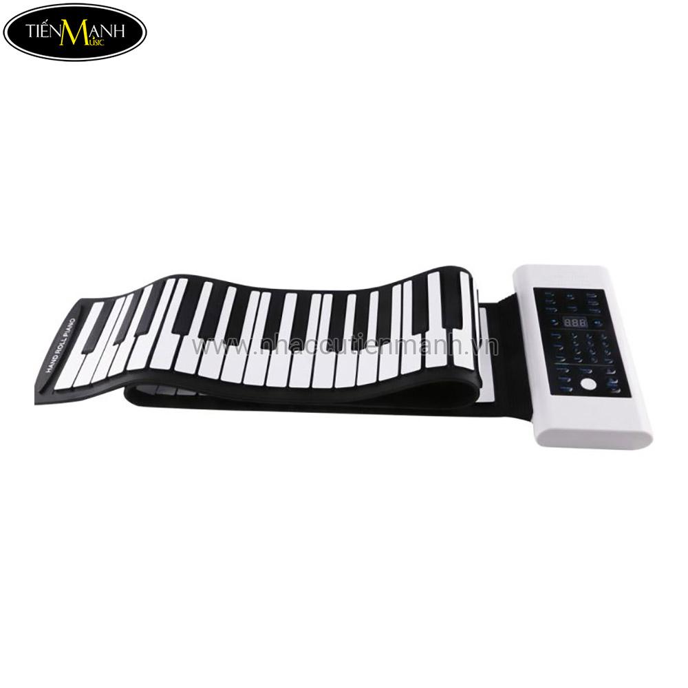 Đàn Piano 88 phím cuộn mềm dẻo Konix Flexible PB88 - Pin sạc 1000mAh
