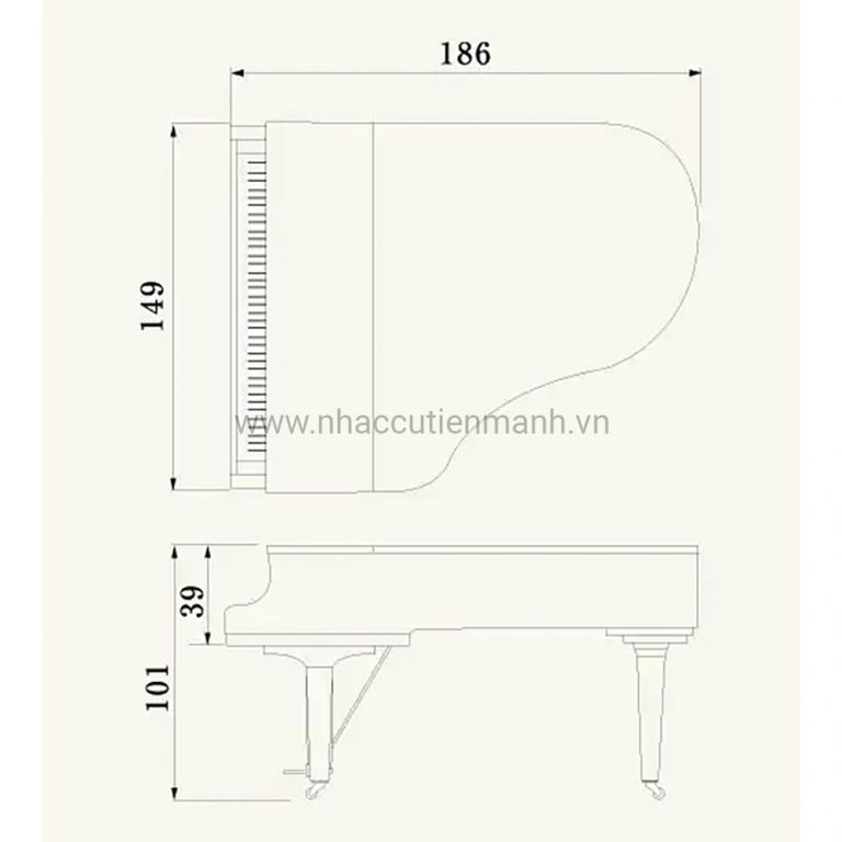 Đàn Piano Grand Yamaha C3X PE