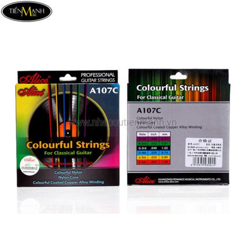 Dây đàn Guitar Classic Alice A107C