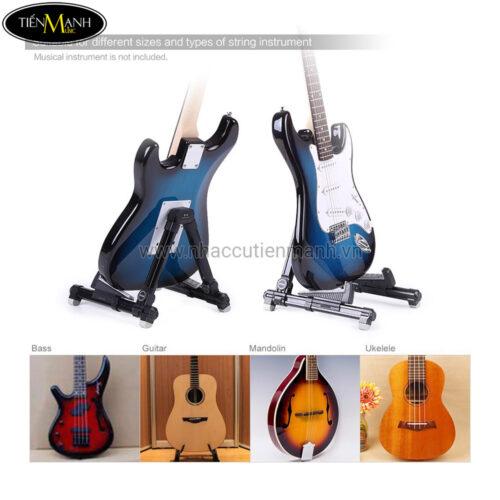 Giá Để Đàn Guitar, Ukulele, Violin, Guitarlele, Mandolin Aroma AGS-08