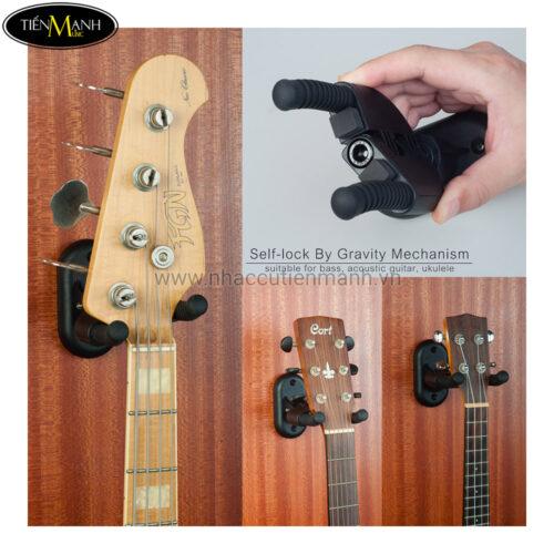 Giá Guitar Treo Tường Guitto GGS-04
