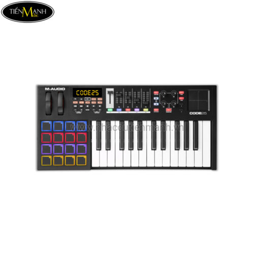 MIDI Controller M-Audio Code 25 (Đen)