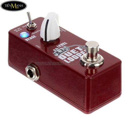 Phơ Guitar tạo vòng lặp Xvive Digital Duet Looper D3 (Nguồn chính hãng đi kèm - Bàn đạp Fuzz Pedal Effect)