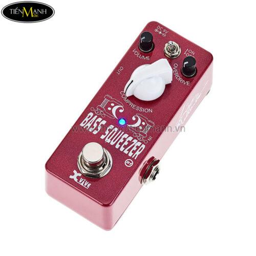 Phơ Guitar Xvive Analog Bass Squeezer B1 (Nguồn chính hãng đi kèm - Bàn đạp Fuzz Pedals Effects)