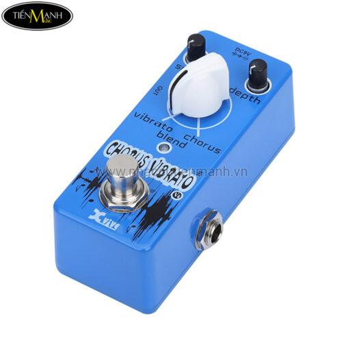 Phơ Guitar Xvive Analog Chorus Vibrato V8 (Nguồn chính hãng đi kèm - Bàn đạp Fuzz Pedals Effects)