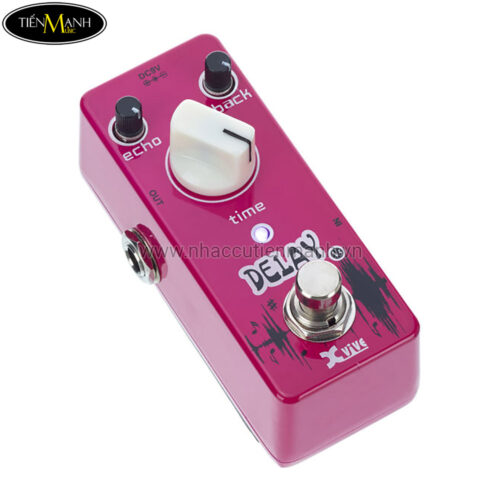 Phơ Guitar Xvive Analog Delay V5 (Nguồn chính hãng đi kèm - Bàn đạp Fuzz Pedals Effects)