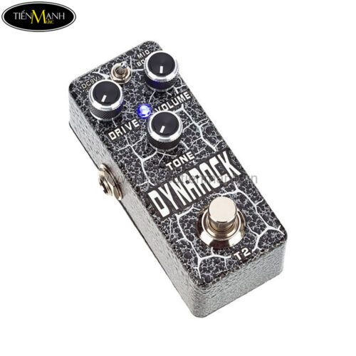 Phơ Guitar Xvive Analog Distortion DynaRock T2 (Nguồn chính hãng đi kèm - Bàn đạp Fuzz Pedals Effects)