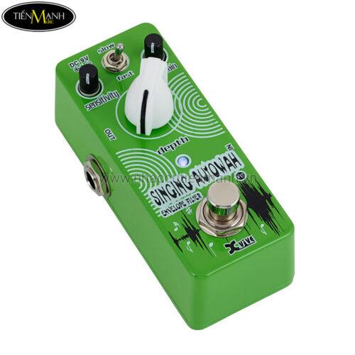 Phơ Guitar Xvive Analog Singing Autowah V17 (Nguồn chính hãng đi kèm - Bàn đạp Fuzz Pedals Effects)