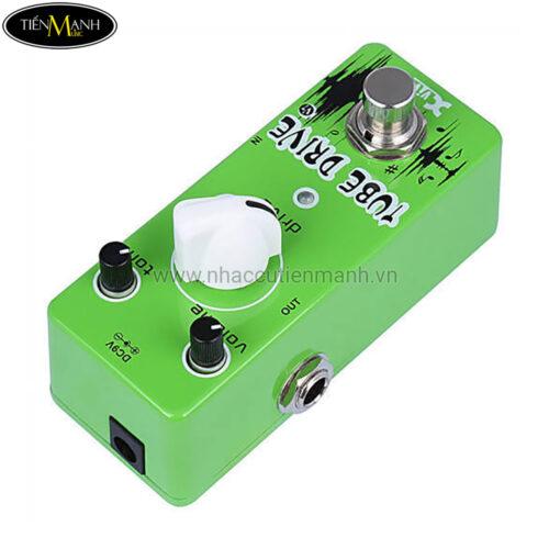 Phơ Guitar Xvive Analog Tube Drive V7 (Nguồn chính hãng đi kèm - Bàn đạp Fuzz Pedals Effects)