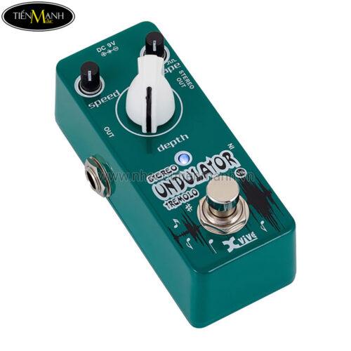 Phơ Guitar Xvive Analog Undulator V16 (Nguồn chính hãng đi kèm - Bàn đạp Fuzz Pedals Effects)
