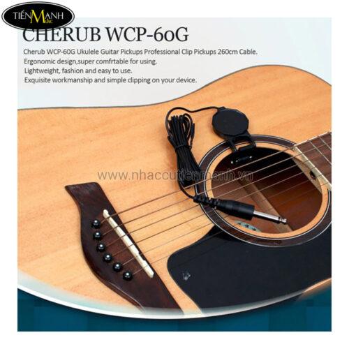 Pickup Đàn Guitar Cherub WCP-60G (Bộ thu âm Acoustic Guitar và Classic Guitar)