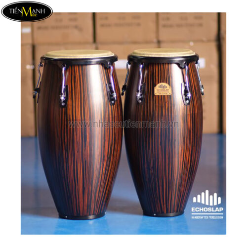 Trống Congas Echoslap CS1011-EB (BS) (Made In Thailand)
