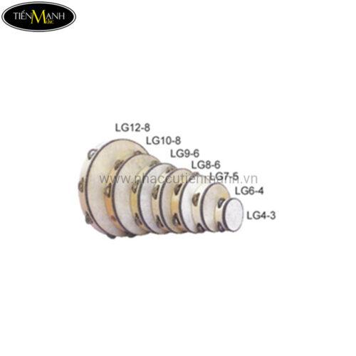 Trống Lắc Tay Gỗ - Tambourine (có mặt 20cm) LG8-6