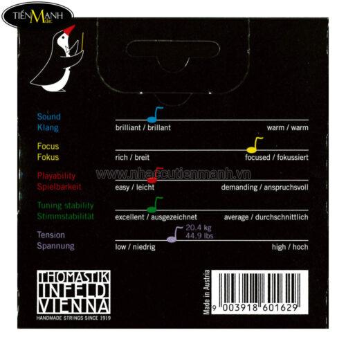 Violin Strings Thomastik-Infeld Vision VI100