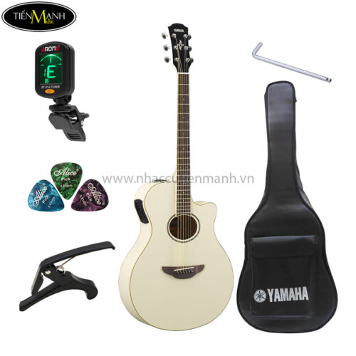 đàn guitar acoustic yamaha apx600 khuyến mãi