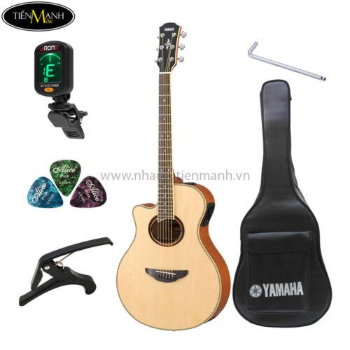 đàn guitar acoustic yamaha apx700ii khuyến mãi
