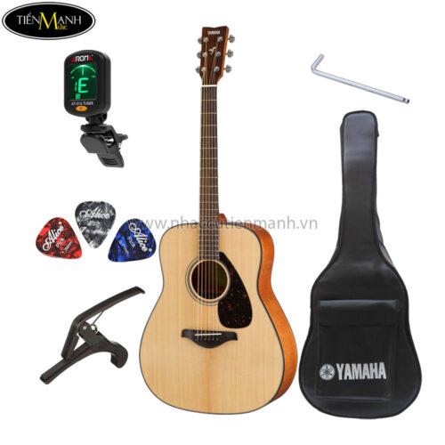 đàn guitar acoustic yamaha fg800 khuyến mãi