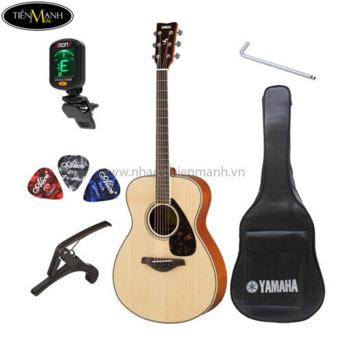đàn guitar acoustic fs820 khuyến mãi