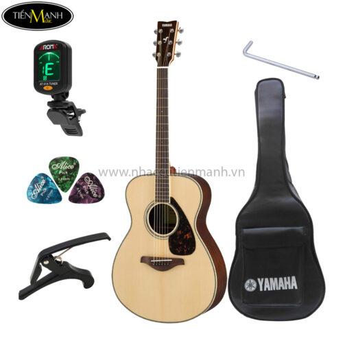 đàn guitar acoustic yamaha fs830 khuyến mãi