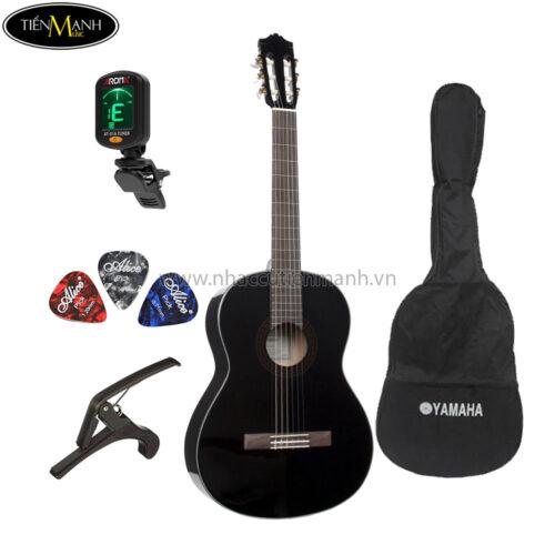 đàn guitar classic yamaha c40 black khuyến mãi