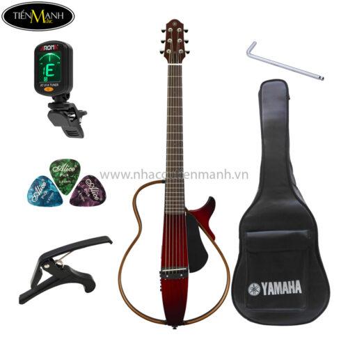 đàn guitar silent yamaha slg 200s khuyến mãi