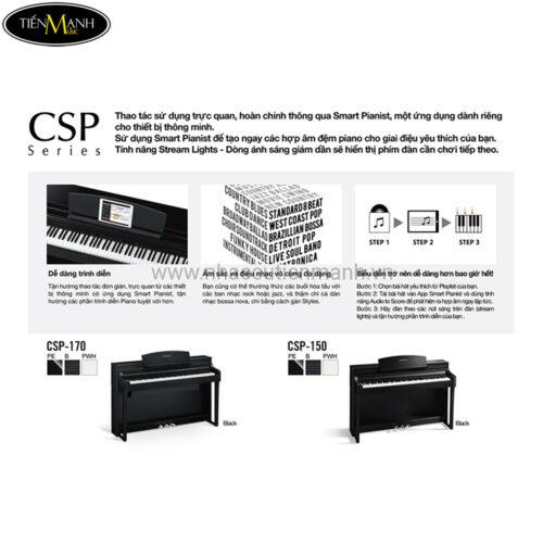 Thông tin piano điện Yamaha CSP
