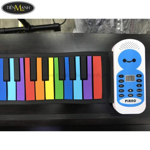 Đàn Piano 49 phím cuộn mềm dẻo có loa Konix Flexible PE49B