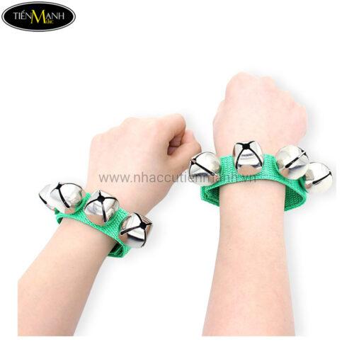 Chuông Đeo Tay Vải Loại 4 Chuông WL4 - Wrist Bells