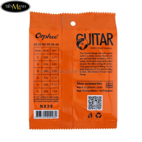 Dây Đàn Guitar Classic Nx35
