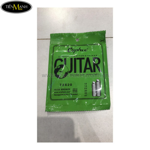 Dây Guitar Acoustic Orphe TX620