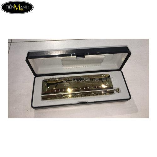 Kèn Harmonica Chromatic Swan SW1456 Gold (14 Lỗ)
