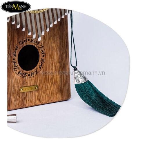 Đàn Kalimba Ling Ting 17 Phím Gỗ Hồng Đàn LT-K17S