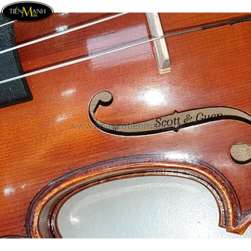 Đàn Violin Scott & Guan 017N Size 4/4