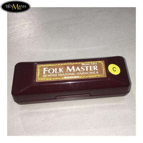 Kèn Harmonica Folk Master 10L