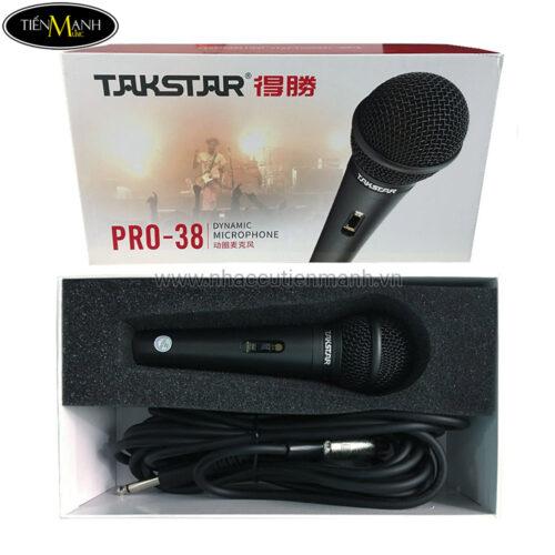 Microphone Cầm Tay takstar Pro-38