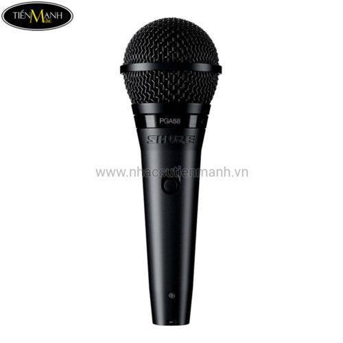 Microphone Có Dây Cầm Tay Shure PGA58-QTR